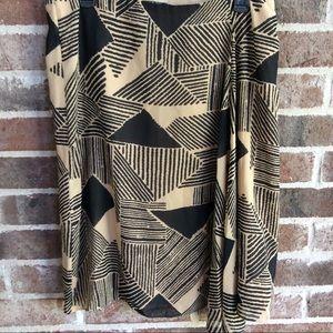 Ralph Lauren Geometric Stripe Skirt